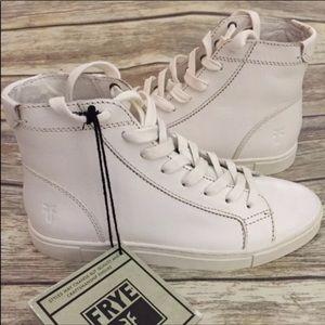"Frye Shoes - Frye ""Gemma"" Leather High-Tops"